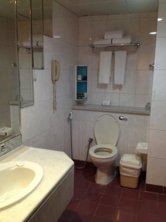 Admiral Plaza Hotel: bathroom