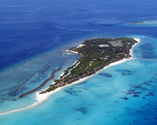 Kuredu Island Resort & Spa: Kuredu Arial View