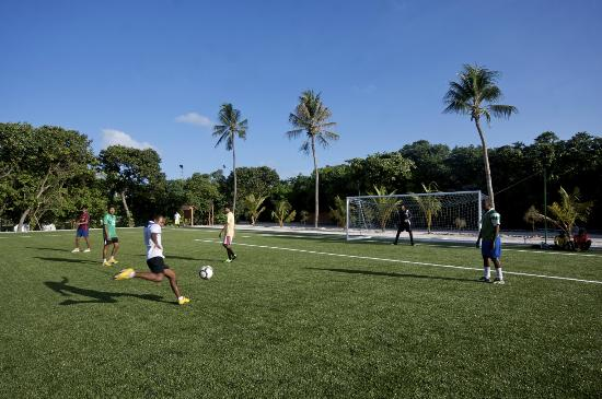 Kuredu Island Resort & Spa: Kuredu Football Ground
