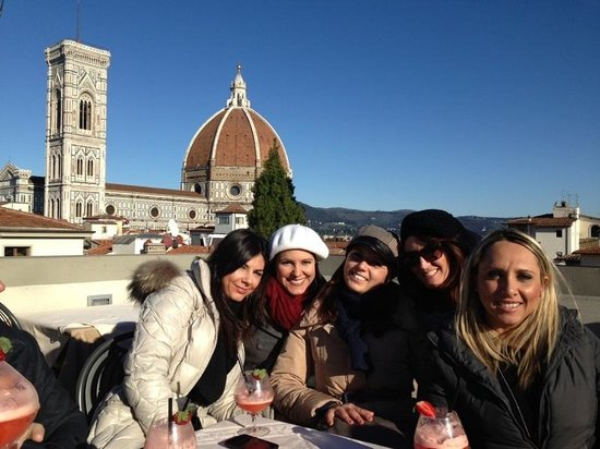 view from the roof of La Rinascente - Picture of Caffe\' La Terrazza ...