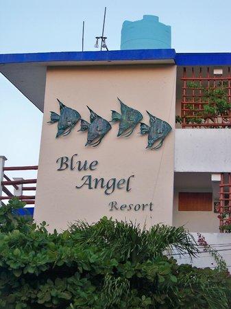 Blue Angel Resort: resort front