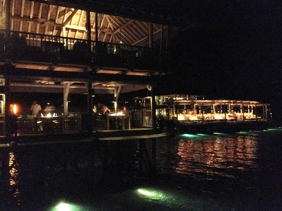 Six Senses Laamu: Dinnersetting
