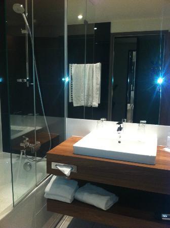 โรงแรม ออสเตรียเทรนด์ ดอปปิโอ: Spotless bathroom