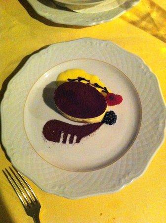 Belmond Hotel Cipriani: Dessert at Cip's Club