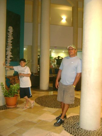 The Mill Resort & Suites Aruba: con mi sobrino