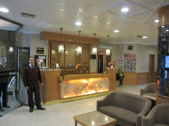 هوتل إنتر اسطنبول: Lobby 