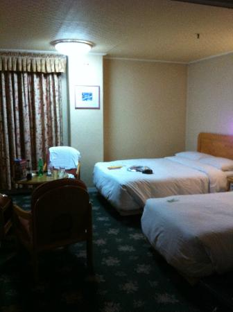 Busan Tourist Hotel : Standard double room