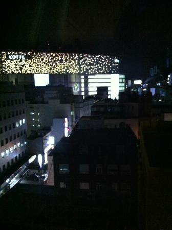 Busan Tourist Hotel : View of Lotte departmentstore from room