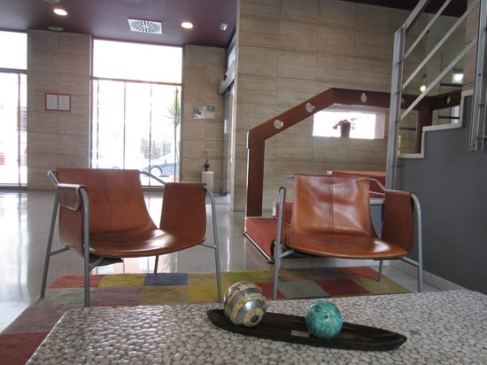 Hotel Silken Villa de Avilés: The lobby