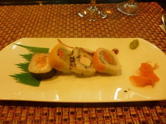 Grand Palladium Punta Cana Resort & Spa: Sushi at Hibachi
