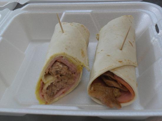 Nani's Restaurant: Cuban Wrap!