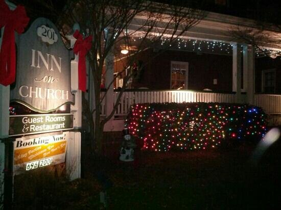 The Henderson: Inn on Church in December