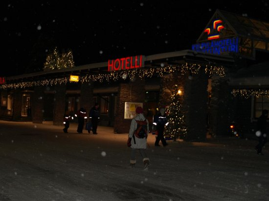 Levi Hotel Spa : Hotel main reception