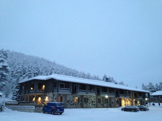 Levi Hotel Spa: hotel grounds