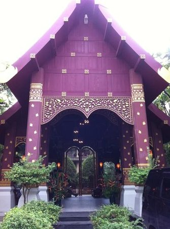 Burasari Resort: entrance