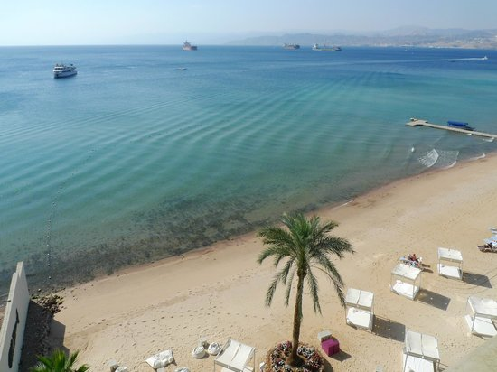 Kempinski Hotel Aqaba Red Sea: Havsutsikt med stort H