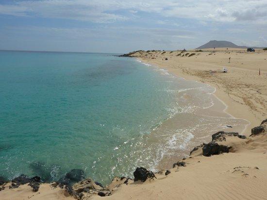 Parque Natural de Corralejo: plaża 500m od Riu Hotel