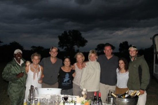 Londolozi Varty Camp: Our Guide, Scout and hospitality team.