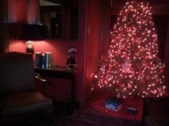Manor House Inn: Library Christmas Tree