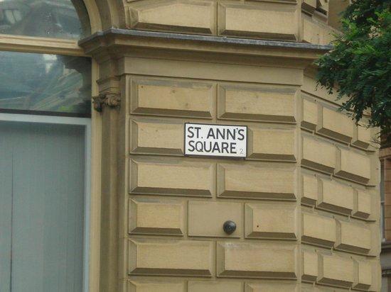 St. Ann's Square: St Ann's Square