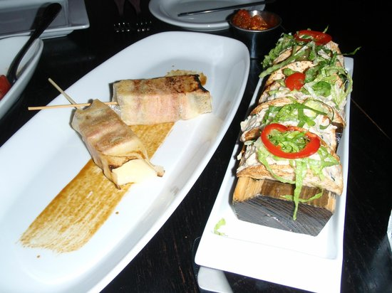 De Rodriguez Cuba on Ocean: imaginative appetizers - the smoked marlin mini tacos are amazing!