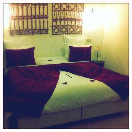 Riad Badi: la chambre Safran