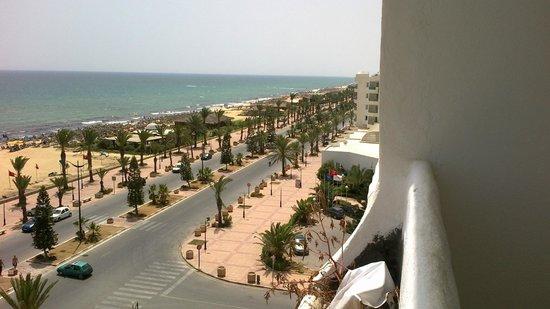 Yasmine Beach Resort : Ausblick vom Zimmer