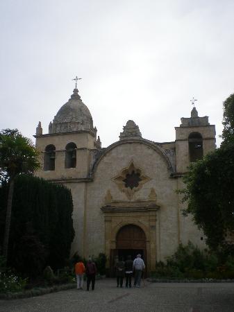 Carmel Mission: la chapelle