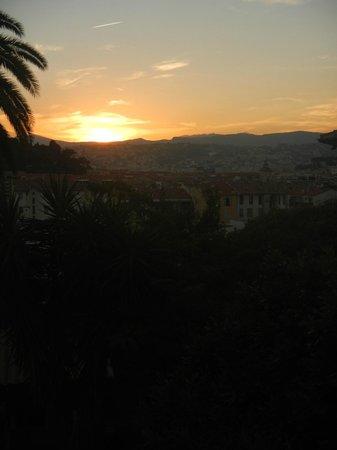 La Villa de Magdalena: vue de notre balcon