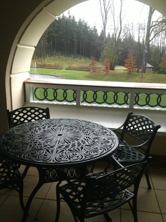 Powerscourt Hotel, Autograph Collection: view from Patio