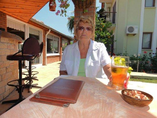 "Crescent Hasirci Hotel & Villas: ""Ice cold"" Tuborg"