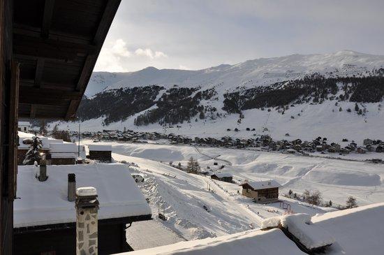 Residence Baita Cusini : vista dalla finestra della camera