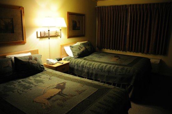 State Game Lodge: onze kamer