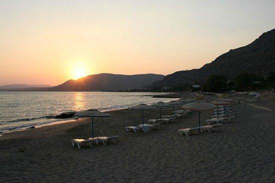 peaceful moments at Plakia beach