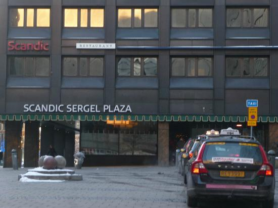 Scandic Sergel Plaza: Ingresso