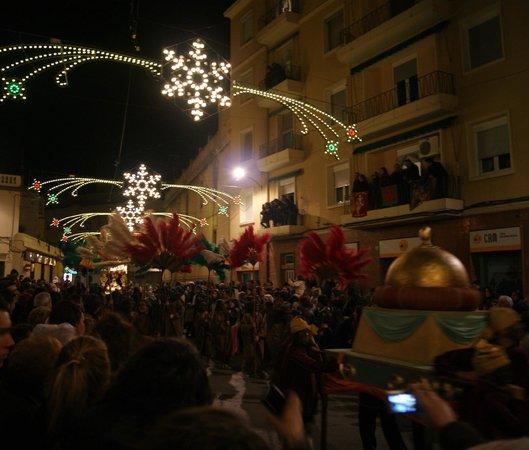 Petrer: Iluminacion nocturna de fiestas