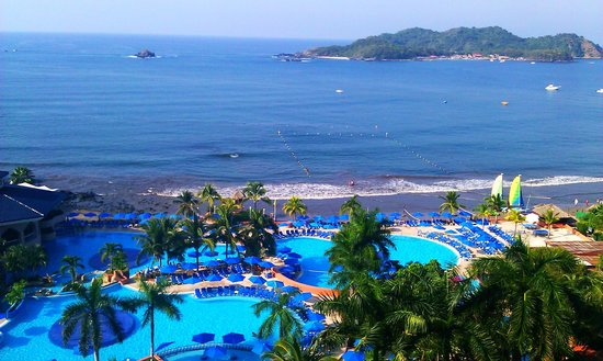 Azul Ixtapa Beach Resort & Convention Center: Ocean View from Room