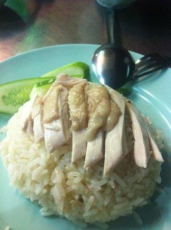 Hainanese Chicken Stall: Chick rice
