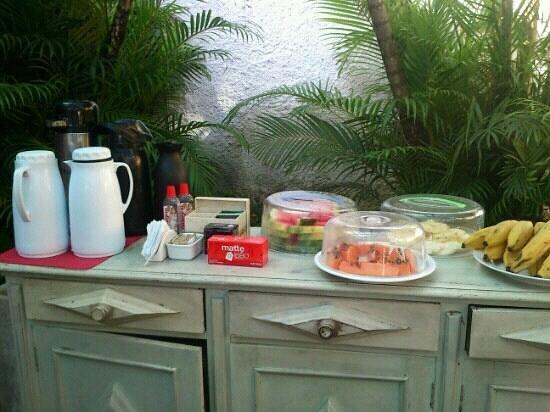 Pousada Kilandukilu: desayuno! delicioso!