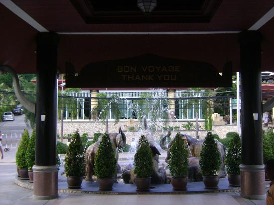 Novotel Samui Resort Chaweng Beach Kandaburi: entrata