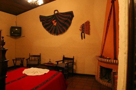 Hotel Posada de Don Rodrigo Panajachel: La stanza