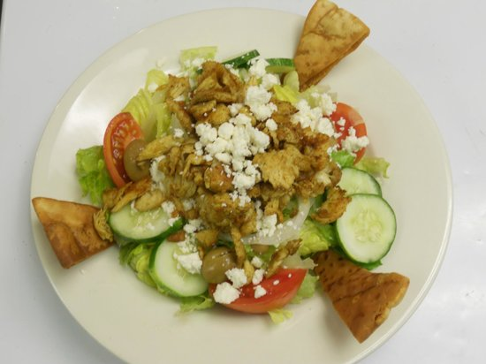 Cafe Sababa - Mediterranean Grill: Greek Chicken Salad