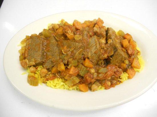 Cafe Sababa - Mediterranean Grill: Moroccan-style Brisket
