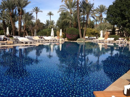Club Med Marrakech le Riad: La piscine du Riad