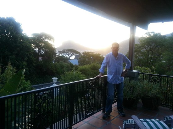 The Hout Bay Hideaway: Balcony view