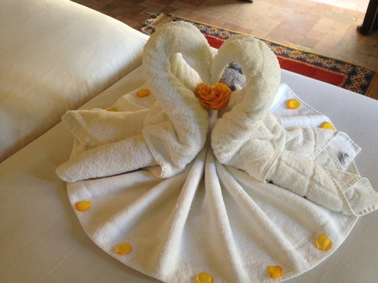 Club Med Marrakech le Riad : Exemple déco dans les suites