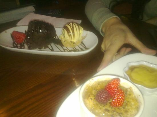 โรงแรมแกรนจ์ ซิตี้: Dessert!
