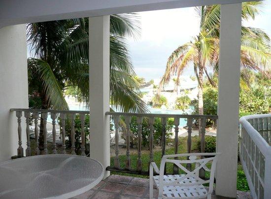 Taino Beach Resort & Clubs : View from within restaurant, Taino Beach