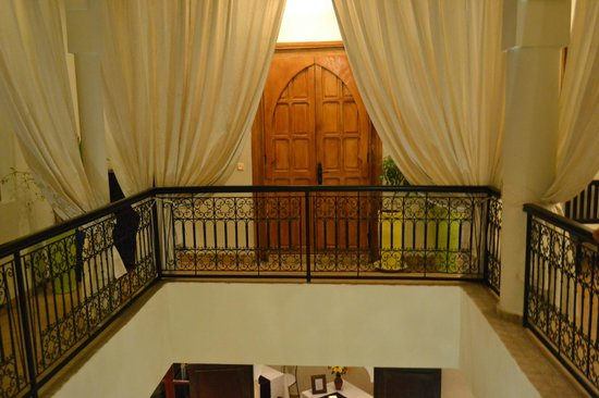 Riad Al Badia : View of our room from across the atruim