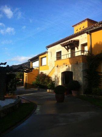 Can Xiquet: extérieur de l'hôtel